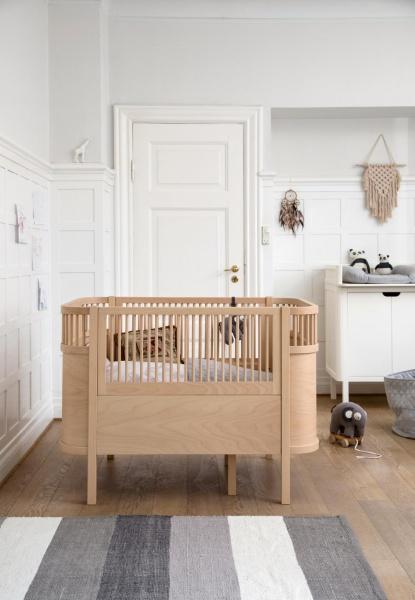 Topnotch Sebra - Seng baby og junior Wooden edition - Drømmebarn VY-19